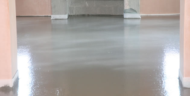 Kerrigan Quarries - Self leveling concrete as a finished floor